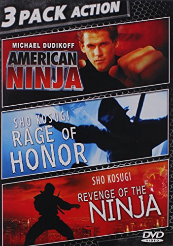 Bild von American Ninja & Rage Of Honor & Revenge Of Ninja [DVD] [Region 1] [NTSC] [US Import]
