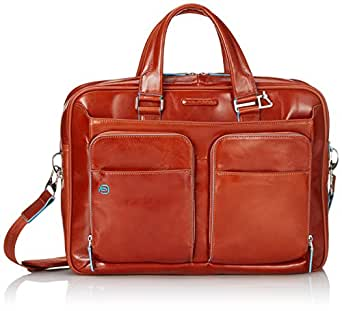Piquadro Blue Square 15 '' Aktentasche mit Laptop-Fach, Arancione (orange) - CA2849B2