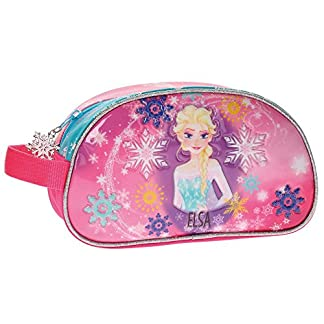 Frozen Elsa Neceser de Viaje, 24 cm, Rosa