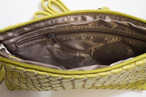 c915429c1a739 Cavoir Bag VALENTINA - Clutch - Frauen- Damentasche aus Leder - Handtasche   Schultertasche