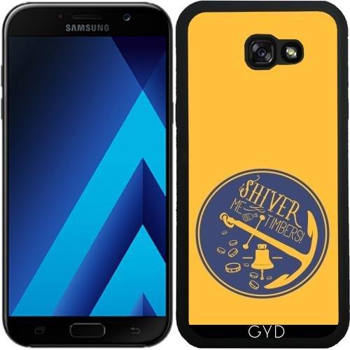 Custodia in silicone per Samsung Galaxy A7 2017 (SM-A720) - Ancora Galleggiante Per Barche Campana by UtArt - Personalizzato Borsa Barche