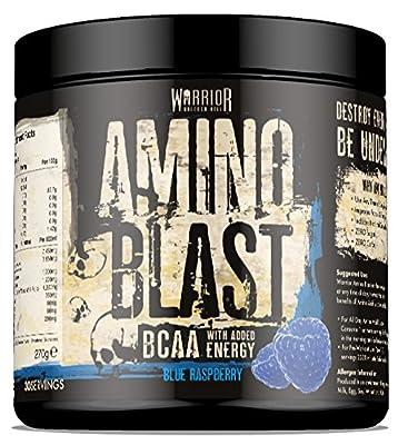 Warrior Amino Energy Blast BCAA Supplement 270g from Warrior Supplements