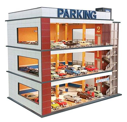 Parking para coches a escala 1/60