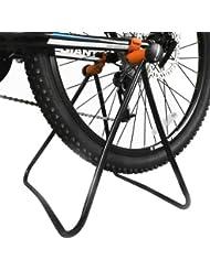 Ibera béquille pliable hauteur réglable bequille ajustable en acier pied d'atelier réparation vélo