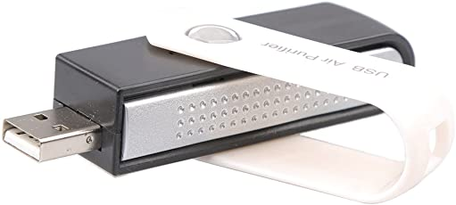 NF&E Lonic Air Purifier USB Portable Lonizer Ozone Freshener Remove Mini Cleaner