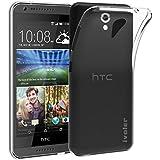 HTC Desire 620 Funda, iVoler TPU Silicona Case Cover Dura Parachoques Carcasa Funda Bumper para HTC Desire 620, [Ultra-delgado] [Shock-Absorción] [Anti-Arañazos] [Transparente]- Garantía Incondicional de 18 Meses