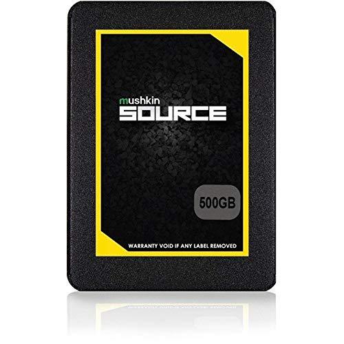 Mushkin Source - 500GB interne SSD-Festplatte (SSD) - 2,5 Zoll - SATA III - 6Gb/s - 3D Vertical TLC - 7mm - (MKNSSDSR500GB)