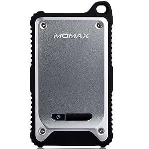 Momax - Batterie Externe Universelle Antichoc et Etanche iPower TOUGH 2 Argent 9000mAh - Momax - Autre