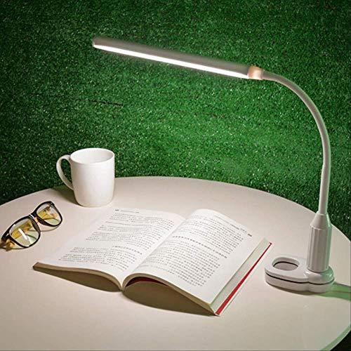 Hyl tischlampe schreibtischlampen usb led clip auf tischlampe flexibel einstellbar led clipper schreibtisch licht student bett lesebuch lampe a -
