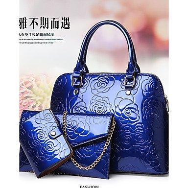 La donna pu formale Evento Casuale/Partito Set borsa,Nero Blue