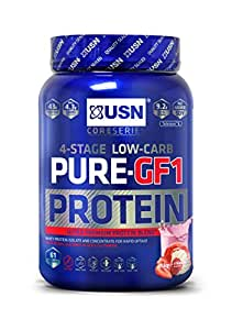 USN Pure Protein GF1 Growth and Repair Protein Shake, Strawberry - 1 kg