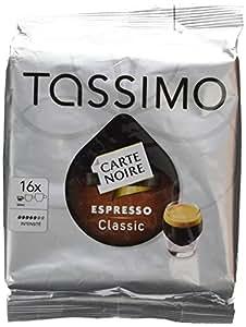 """TASSIMO Sachet de 16 doses de café Carte Noire """"Expresso classique"""""""