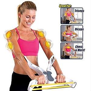 ZOMAKE Armtrainer – Wonder Arms Arm Muskel Übungs Ausrüstungs – Arm Oberkörper Workout Maschine Hausgebrauch (Aktualisierung)