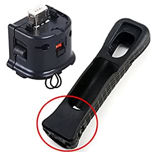 Adaptateur Motion Plus pour télécommande Wii Noir