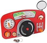 I'm Toy 111547 Wandspiel Auto Motorikspiel für Kinderzimmer, Wartezimmer, Kinderkrippe, Kindergarten
