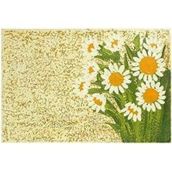 CAPRILO Lienzo Decorativo Moderno Flores Margaritas. Cuadros y Apliques. Adornos Modernos para el Hogar Pinturas. 60 x 40 x 4 cm.