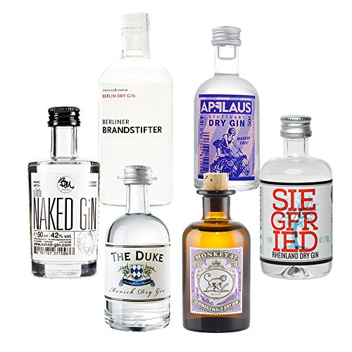 German Gin Collection - 6 x Original Gin minis
