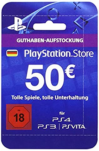 Playstation Store Network Card 50€ (PS4/PS3/PS Vita) (Ps Network Online)
