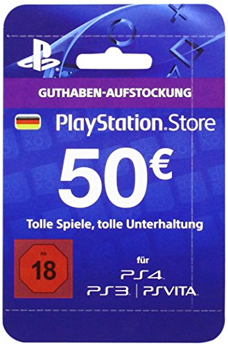 Playstation Store Network Card 50€ (PS4/PS3/PS Vita)
