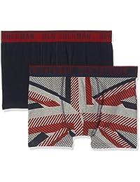 Ben Sherman Men's Gabriel Boxer Shorts (Pack of 2)
