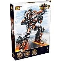 LOZ Transformers Megatron Juego de Nanobloques de Construcción de Diamante Para Niños y Rompecabezas 3D para Adultos con Caja Opcional con Divertido Juego Educativo iBlock Para Niños.