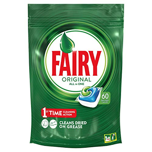 Fairy Original Todo En 1 - Cápsulas De Lavavajillas