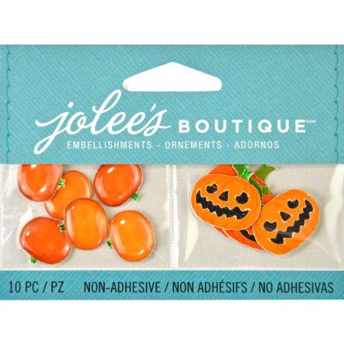 Jolee's Boutique Scrapbooking Verzierungen, Jack O 'Laternen und Kürbisse