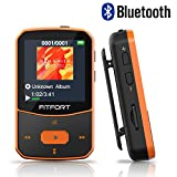 Reproductor MP3 Bluetooth 4.1 - MP3 Bluetooth Running, Sonido de Gama Alta, Radio FM, Grabación de...