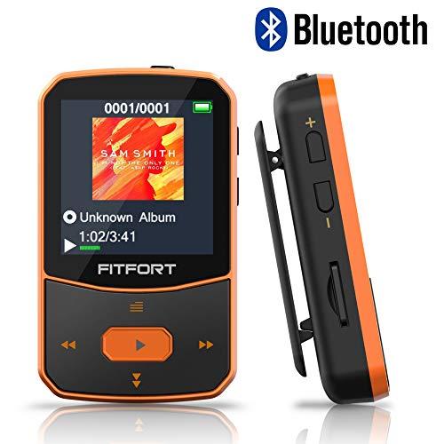 FITFORT Reproductor MP3 Bluetooth ¿Buscas un reproductor de mp3 de alta calidad y alta gama para disfrutar tu música? Si deseas un reproductor de MP3 con Bluetooth que esté bien diseñado y sea portátil y duradero, el reproductor de MP3 con Bluetooth ...