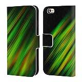Offizielle PLdesign Pinselstriche Abstraktes Design Brieftasche Handyhülle aus Leder für iPhone 6 / iPhone 6s