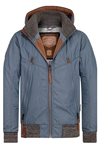 Naketano Male Jacket Old Boy Steel