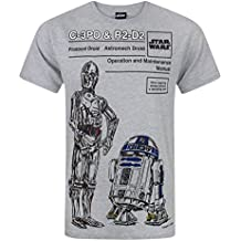 Star Wars C-3PO and R2-D2 Men's T-Shirt