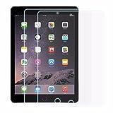 2-Pack EasyAcc iPad Pro 9.7/ iPad Air 2/ iPad Air Schutzfolie, Klar Displayschutzfolie Folie Clear Displayfolie Displayschutz Invisible Screen Protector für iPad Air 2 iPad Air iPad Pro 9.7 - Klar / High Definition (HD) /Schmutzresistent (2-Pcs)