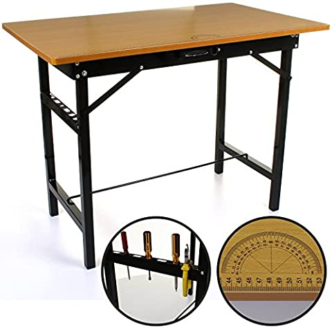 Marko Tools Work Table Foldable Portable Folding Mobile Home DIY Hobby Bench Top Pasting