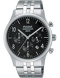 Pulsar Herren-Armbanduhr Chronograph Quarz Edelstahl PT3787X1