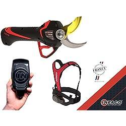 Infaco F3015 Electrocoup Sécateur électrique/électronique à batterie, coupe moyenne jusqu'à 45mm, pour élagage