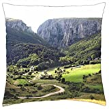 Turda gorges canyon Transylvania Romania Carpathian mountains beautiful european landscapes - Throw Pillow Cover Case (18