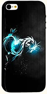 Amazing multicolor printed protective REBEL mobile back cover for iPhone 5 D.No.N-L-12102-IP5