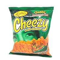 Leslies Cheddar Jalapeno Cheezy Corn Crunch, 70 gm