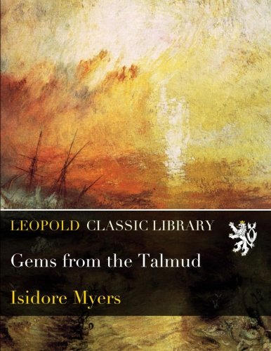 Gems from the Talmud por Isidore Myers