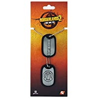 Borderlands Dog Tags with ball chain Logo Other Pendants necklaces