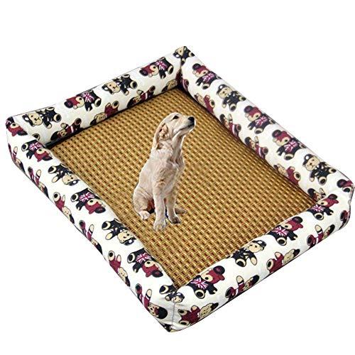 matte, Hund Selbstkühlmatte Kühlmatte Für Hund Hund Kühlkissen Haustier Eismatte Pet Pad Für Kisten, Zwinger Und Betten,S ()
