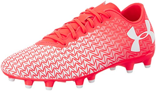 Under Armour Ua Cf Force 3.0 Fg, Chaussures de Football Homme Red (Neon Coral 611)