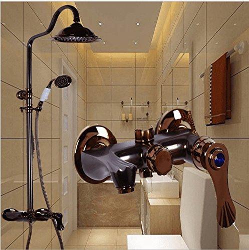 EuropäIschen Stil Duschkopf Duschgarnitur Antik Temperaturregelung Wasserhahn Heben Antik Dusche Mischventil.
