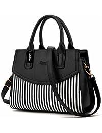 Alidear New Brand And 2018 Women Top Handle Satchel Handbags Tote Shoulder Bag For Handbag Handles Black