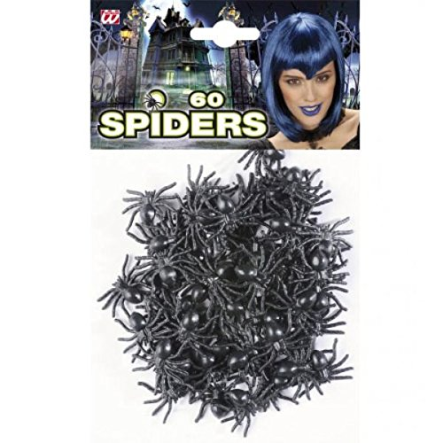 Falsche Halloween-Spinnen Set 60 (Halloween Für Spinne)