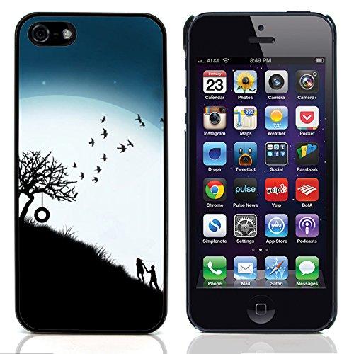 Graphic4You Love Graphic Design Harte Hülle Case Tasche Schutzhülle für Apple iPhone 5 und 5S Design #16