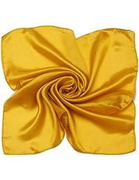 MEISHINE 52 * 52cm Mujer 100% Seda Bufanda Pa?uelo Estola Chal Ideal for Evening Wedding Ceremony