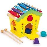Klang- und Spielhaus DODOO Klanghaus Xylophon Holz Xylofon Motorik NEU