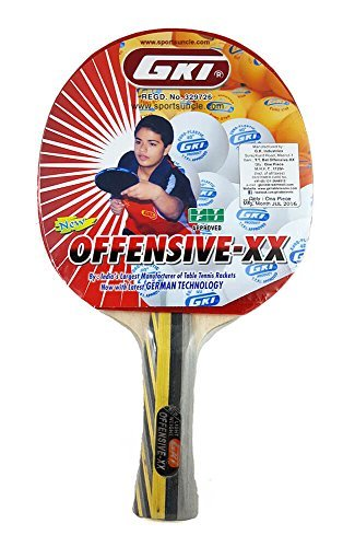 GKI Offensive XX Computerised Printed Cover Table Tennis Racquet